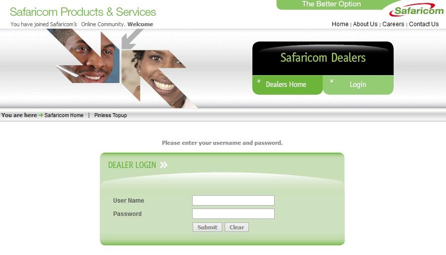 Safaricom Dealer Portal