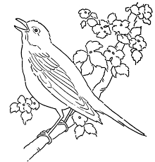 Birds Printable Template