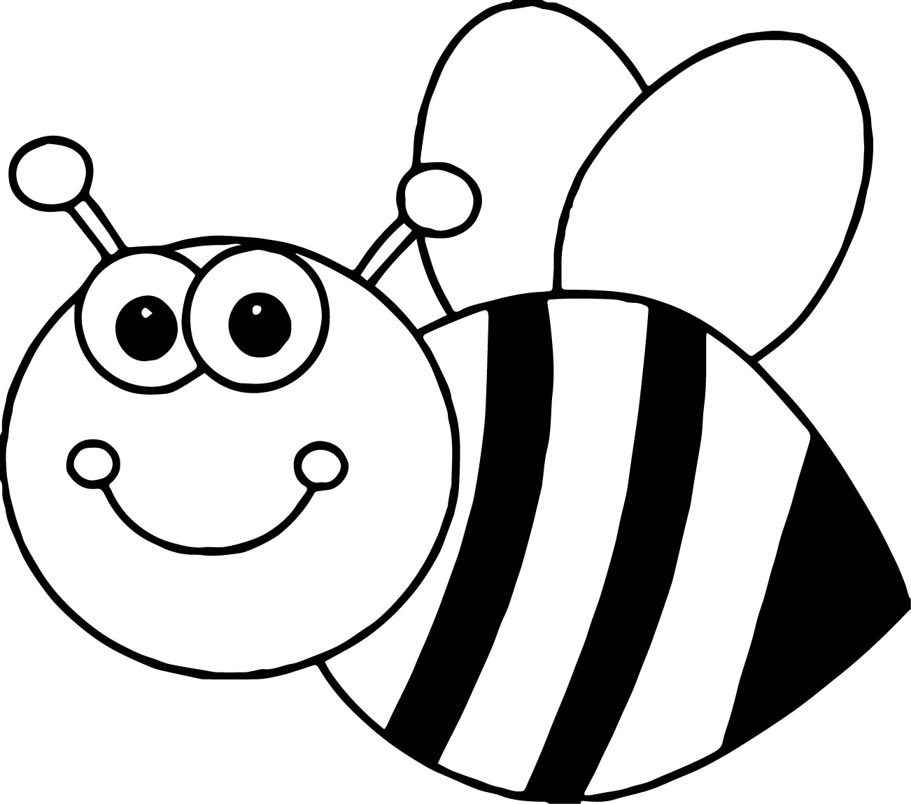 Bumblebee Coloring Pages for Adults