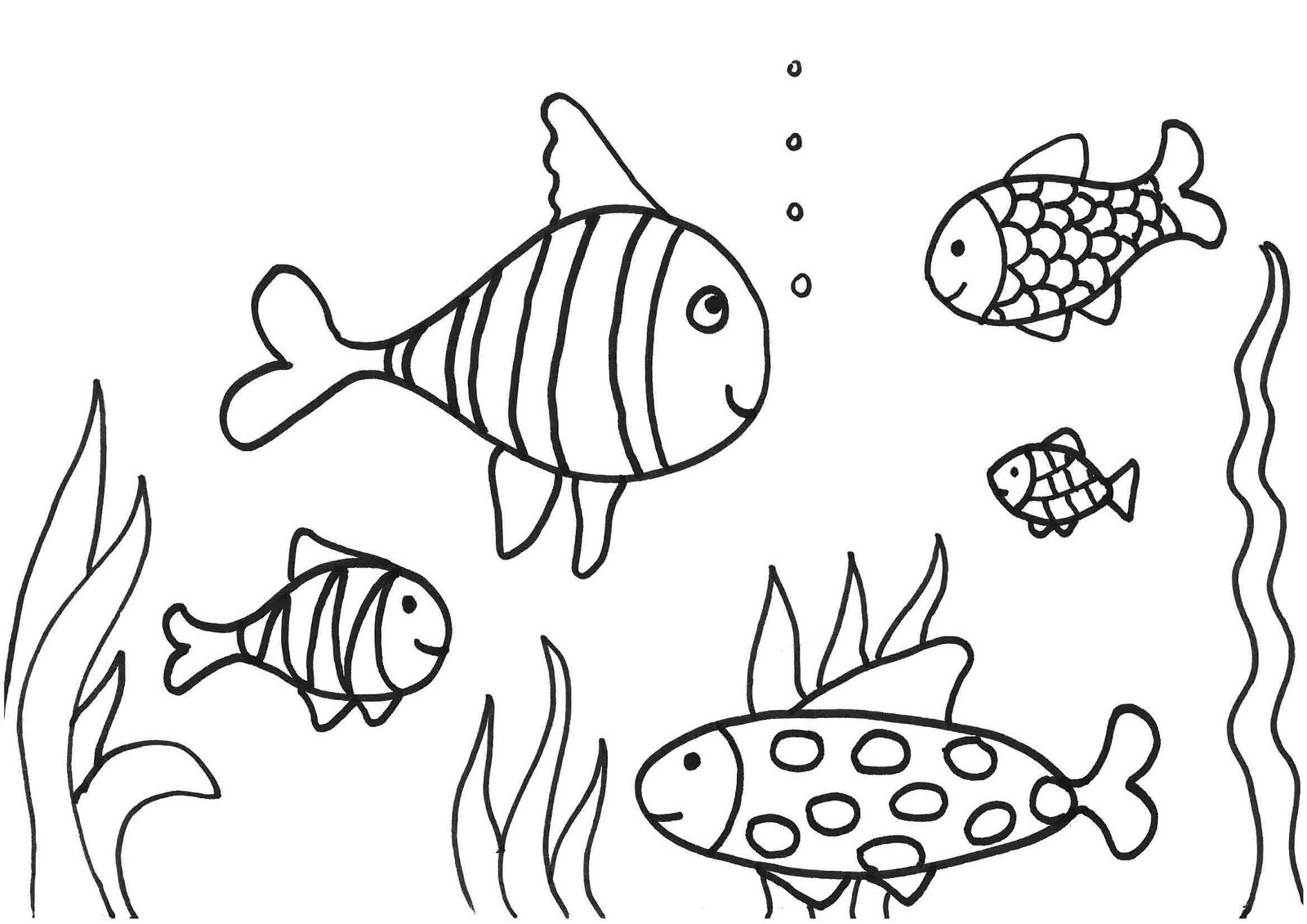 Coral Face Coloring Pages
