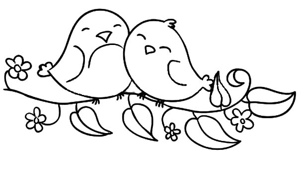 Free Birds Coloring Pages Printable