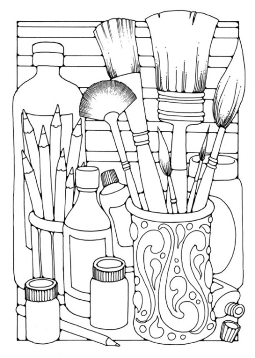 Cute Coloring Pages for Adults